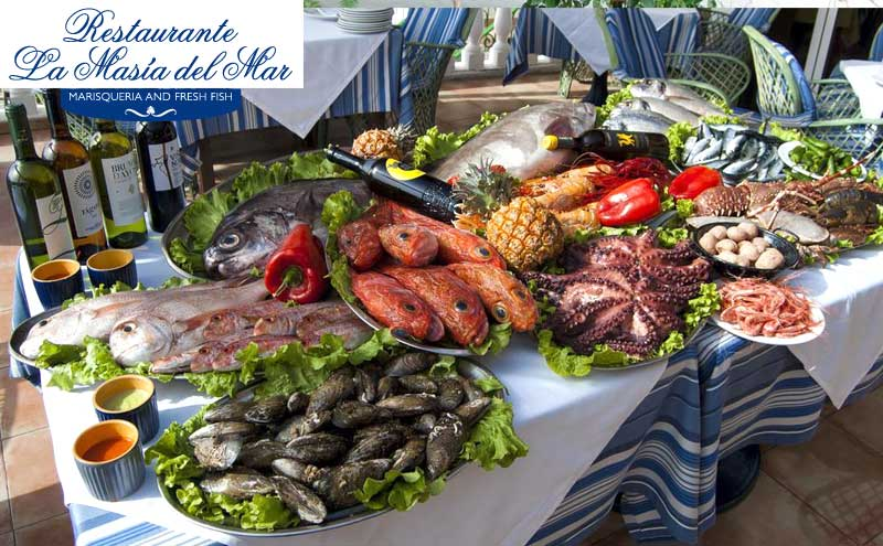 The Restaurant La Masía Del Mar Has Privilege Of Being Surrounded By Natural And Welcoming Environment Caleta De Adeje