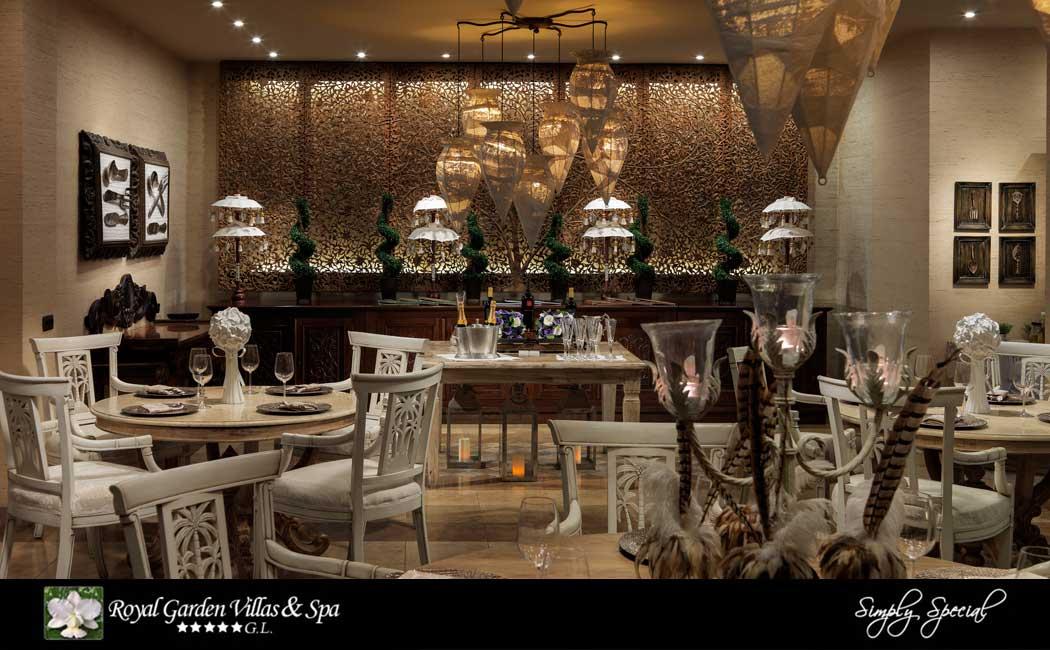 Royal Garden Villas & Spa - Restaurant Jardin